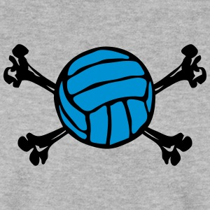 Volleyball Ball Skelett 2402 Pullover & Hoodies - Männer Pullover