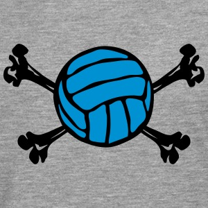 volleyball os squelette ballon 2402 Tee shirts manches longues - T-shirt manches longues Premium Homme