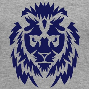 lion animal sauvage tribal 2402 Tee shirts manches longues - T-shirt manches longues Premium Femme