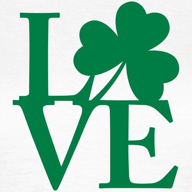 Identitee Europa Love The Irish Womens T Shirt