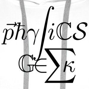 Physics Geek! - Men's Premium Hoodie