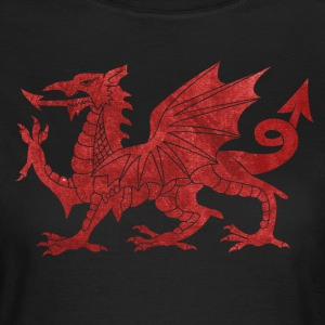 Welsh Red Dragon T-Shirts - Women's T-Shirt