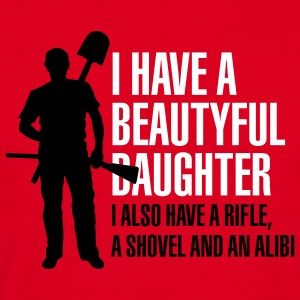 I have a beautiful daughter Tee shirts - T-shirt Homme