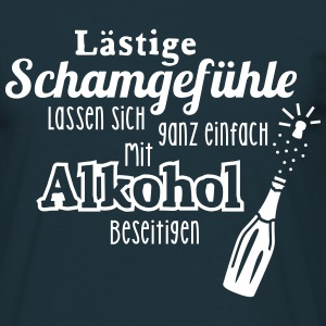 Alkohol - Spruch - Sekt - Prosecco - Party - 1C T-Shirts - Männer T-Shirt