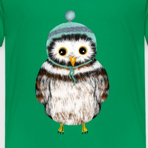 owl with hat Shirts - Kids' Premium T-Shirt