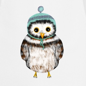 owl with hat  Aprons - Cooking Apron