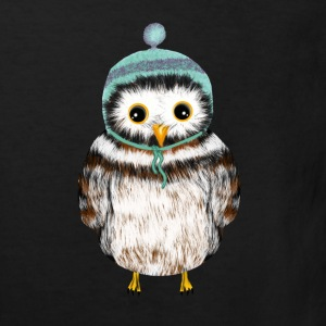 owl with hat Shirts - Kids' Organic T-shirt