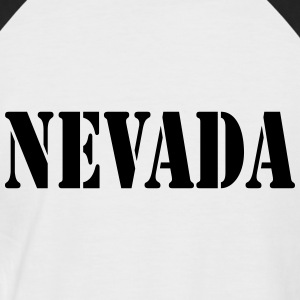 Nevada T-Shirts - Männer Baseball-T-Shirt