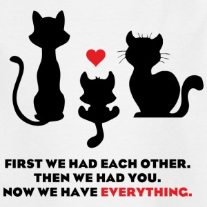 Cat Family t-shirt - Kids' T-Shirt