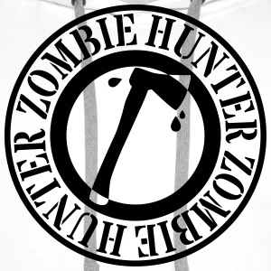 zombie hunter chasseur de zombie Sweat-shirts - Sweat-shirt à capuche Premium pour hommes