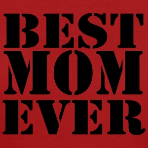 Best Mom ever T-shirts - Ekologisk T-shirt dam