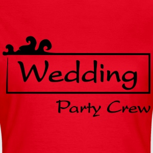 Wedding Party Crew T-shirts - Dame-T-shirt