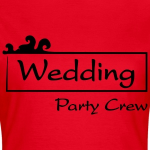 Wedding Party Crew Tee shirts - T-shirt Femme