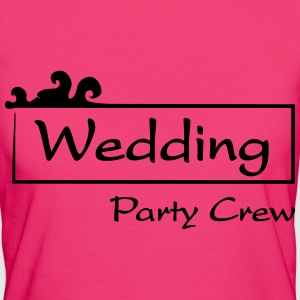 Wedding Party Crew T-Shirts - Women's Organic T-shirt