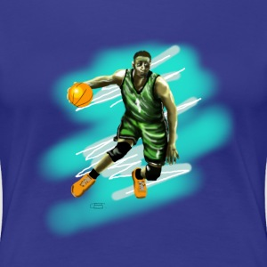 basketball player T-shirts - Premium-T-shirt dam