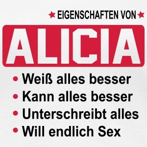 alicia T-Shirts - Frauen Premium T-Shirt