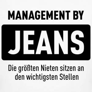 Management By Jeans T-Shirts - Männer Bio-T-Shirt