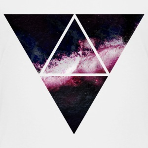triangle galaxy triangle galaxy T-shirts - Premium-T-shirt barn