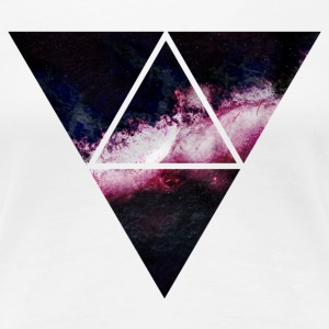 triangle galaxy T-Shirts - Women's Premium T-Shirt