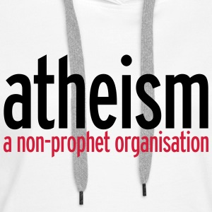 Atheism Sweat-shirts - Sweat-shirt à capuche Premium pour femmes
