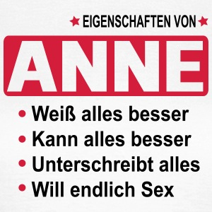 anne T-Shirts - Frauen T-Shirt