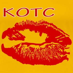 KOTC Kiss on the cheek T-Shirts - Frauen Premium T-Shirt