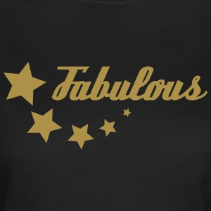 Gold-glitter Fabulous - Women's T-Shirt