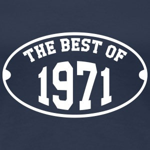 The Best of 1971 T-shirts - Vrouwen Premium T-shirt