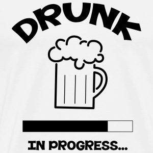 Drunk in progress... Tee shirts - T-shirt Premium Homme