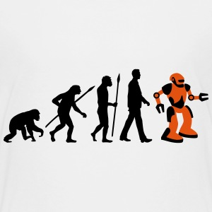 evolution_roboter_032014_a_2c T-Shirts - Teenager Premium T-Shirt