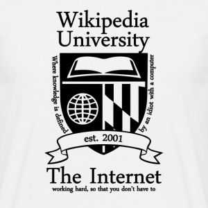 Wikipedia University - Men's T-Shirt