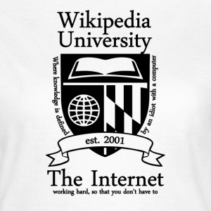 Wikipedia University - Women's T-Shirt