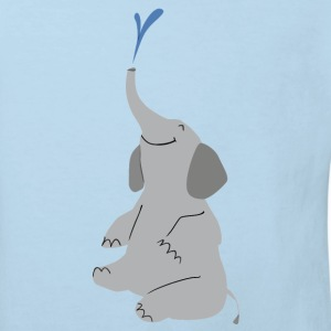 T-Shirt Elefant - Kinder Bio-T-Shirt
