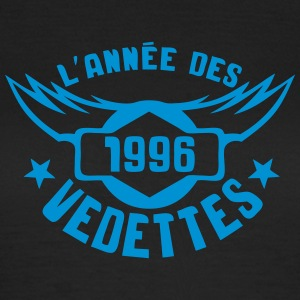 1996 annee anniversaire vedettes logo Tee shirts - T-shirt Femme