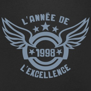 1998 annee anniversaire excellence logo Tee shirts - T-shirt Homme col V