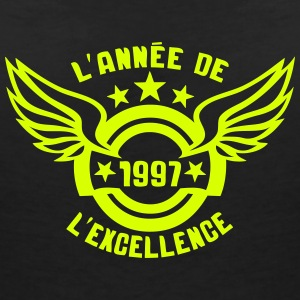 1997 annee anniversaire excellence logo Tee shirts - T-shirt col V Femme