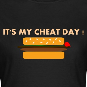Cheat Day Burger Tee shirts - T-shirt Femme