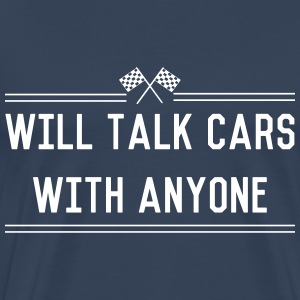 Will Talk Cars T-Shirts - Men's Premium T-Shirt