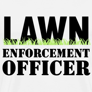 Lawn Enforcement Officer T-Shirts - Men's Premium T-Shirt