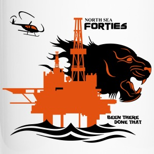 Forties Oil Rig Platform North Sea Aberdeen - Travel Mug