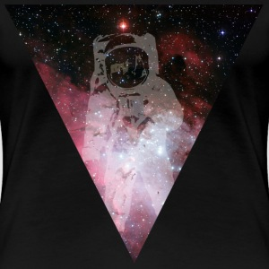 Astronaut - outer space T-shirts - Dame premium T-shirt