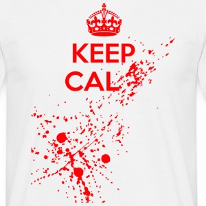 Keep Cal... T-skjorter - T-skjorte for menn