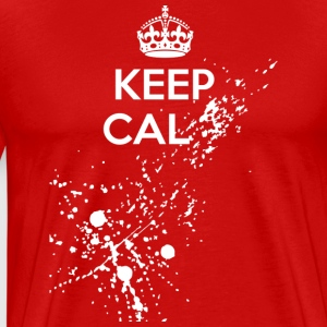 Keep Cal... dark t-shirt - Men's Premium T-Shirt