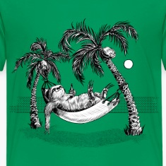 Grøn Sloth T-shirts