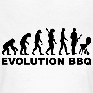 Evolution BBQ T-Shirts - Frauen T-Shirt