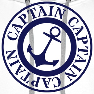 captain capitaine Sweat-shirts - Sweat-shirt à capuche Premium pour hommes