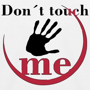 Don´t touch me! - Kinder Baseball T-Shirt