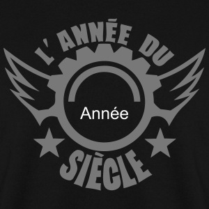 ajouter date anniversaire annee siecle Sweat-shirts - Sweat-shirt Homme