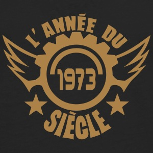 1973 date anniversaire annee siecle logo Tee shirts manches longues - T-shirt manches longues Premium Homme
