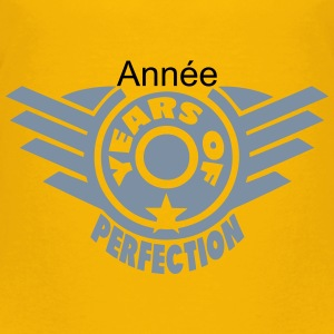 addieren Jahr years perfection 4 logo T-Shirts - Kinder Premium T-Shirt